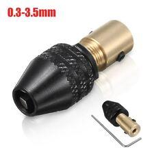 0.3-3.5mm Universal Electrónico Portabrocas Broca Taladro Drill Chuck Hex Shank