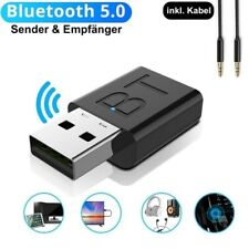 2-in-1 Bluetooth Adapter Transmitter und Empfänger TV PC Audio Sender 3.5mm TOP