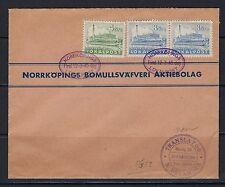 Sweden 3 locals (4 ore & 8 ore (pr.)) w/3/12/45 Norkopings Lokalpost FD cancels