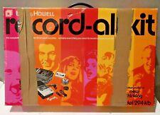1970 Bell & Howell Record All Kit Model 294-KB IN BOX WORKING Cassette Recorder