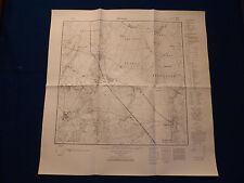 Landkarte Meßtischblatt 2941 Rossow, Rägelin, Teetz, Fretzdorf, von 1945