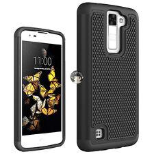 Hybrid Shockproof Hard Case Cover Skin For LG Escape 3 / K8 /Phoenix 2 Phone