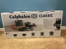 calphalon classic nonstick 8-Piece Cookware Set.~ Sealed Box.~ NEW!