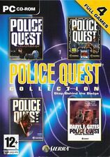 Police Quest Collection (PC) 4 GAMES BRAND NEW SEALED