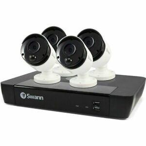 SWANN  SWNVK-875804 8CH 5MP CCTV KIT 4 x 5MP Thermal Sensing Cameras 2TB HDD
