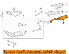 TOYOTA OEM 12-17 Prius V 1.8L-L4-Muffler 1743037480