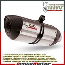 Mivv Exhaust Muffler Suono Stainless Steel for Ktm 690 Enduro Smc 2008 > 2013