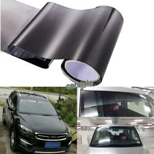 Car Windshield Upper Sun Shades Film Tints Black Gradual Change 20CM x 150CM