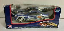 MotorMax 1:24 Scale Honda Civic Si Coupe Racing Screaming Machines Blue