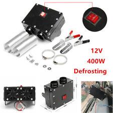 12V 400W Car Fan Heater Heating Warm Windscreen Defroster Demister Kit Universal