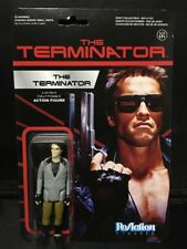 "TERMINATOR ONE TECH NOIR The Terminator 3 3/4"" Reaction Retro Action Figure 2014"