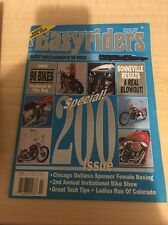 1990 EASYRIDERS BIKER MAGAZINE (11) ISSUES. MISSING JUNE - NMT/MINT