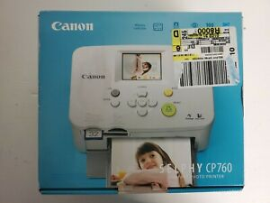 Canon Selphy CP760 CP 760 Compact Photo Picture Printer