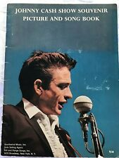 Johnny Cash 1966 Show Souvenir Picture And Song Book (Country, Concert Program)