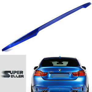 Fit For BMW 4-Series F36 Gran Coupe P-Type Trunk Boot Spoiler 14-19 Painted #B45