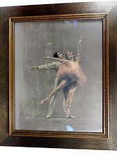 August von Munchausen (Mid Century NY) Pastel on Paper Ballet Dancers, Signed