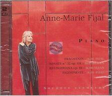 ANNE MARIE FIJAL piano - sourdes clameurs CD ALBUM neuf beethoven schumann