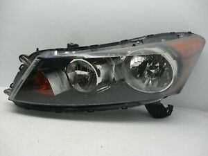 OEM 2008 2009 2010 2011 2012 Honda Accord LEFT Headlight Driver LH SEDAN