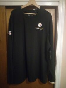 Nike Dri-FIT NFL Pittsburgh Steelers On Field Therma Long Sleeve 2XL Shirt