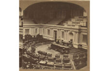Architecture, Senate Chamber Interior U.S. Capital Bldg Stereoview By Underwood