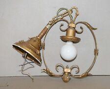 Victorian Art Deco entrance porch outdoor 1930's collectible light lamp parts