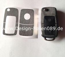 Gebürstet Schlüssel Folie VW Beetle T4 Passat Polo VW Golf4 5 6 IV Bora G 3B T5