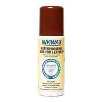 Nikwax WATERPROOFING WAX FOR LEATHER liquid treatment BROWN 125ml