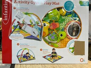 Infantino Baby Activity Gym and Play Mat Toys Pond Pals Twist and Fold