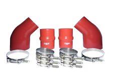 FITS 1994-2002 Dodge Cummins® INTERCOOLER BOOT KIT BRICK RED W/ CLAMPS!