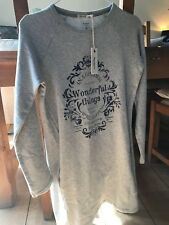 NEW WITH TAGS !!! LOVELY!! Pepe Jeans Grey Long Sweatshirt Age 14