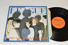 "THE HUMAN LEAGUE Hard Times/Love Action 12"" Maxi Single LP VSX-1134 Virgin VG+"