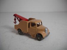 Vintage Matchbox Lesney #13B-2  Wreck Truck  Grey Plastic Wheels RESTORED TO NM!