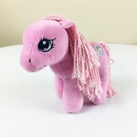 "My Little Pony G3 Pinkie Pie Plush! 10"" Stuffed Toy Lovey Yarn Hair Hasbro"