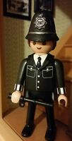 playmobil policia ingles / bobby custom