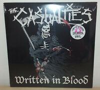 THE CASUALTIES - WRITTEN IN BLOOD - SPLATTER - LP