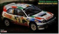 Hasegawa 1/24 Toyota Corolla WRC 1998 New Zealand Rally Winner Model kit F/S