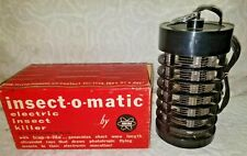 VINTAGE INSECT-O-MATIC ELECTRONIC BUG KILLER FETRO INSECT 110.ZAPPER.1968.IN BOX