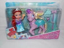 Disney Princess Petite Ariel Doll & Pony Playset With Hair Accessories