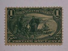 Travelstamps: 1898 US Stamps Scott# 285 mint og lightly hinged Trans-Mississippi