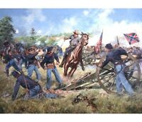 """Sword of Virginia, 2nd Manassas, August 30, 1862"" Don Troiani A/P Print"