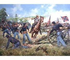 """Sword of Virginia, 2nd Manassas, August 30, 1862"" Don Troiani Civil War Print"