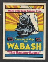 Wabash Railroad Cinderella Stamp