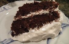 Old Fashion Devil's Food Chocolate Cake Secret Heirloom Recipe!! YUM!