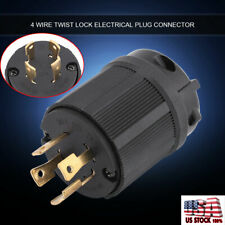 4 Wire US Twist Lock Electric Plug Connector NEMA L14-30P 30A 125V-250V