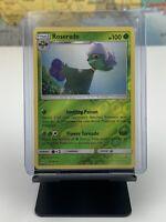 SHIPS SAME DAY Pokemon Card NM/M Roserade 5/156 Rev Holo Grass Type 2018 Rare