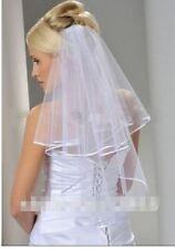 1 voile court simple mariage avec peigne LIVRAISON DE SUITE