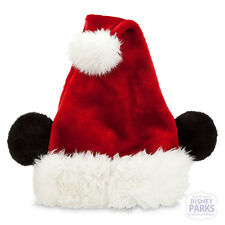 Disney Parks Mickey Mouse Santa Hat for Adults Mickey Ears
