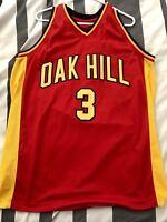 CUSTOM NAME /& # OAK HILL HIGH SCHOOL JERSEY  JENNINGS Red SEWN NEW ANY SIZE