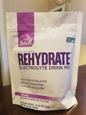 Advocare REHYDRATE Electrolyte Sticks, 14, Grape