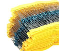 Widerstand 1Ohm - 1 MOhm Metallfilm 50 100 Auswahl 1/4W 0,25W 1% Widerstände
